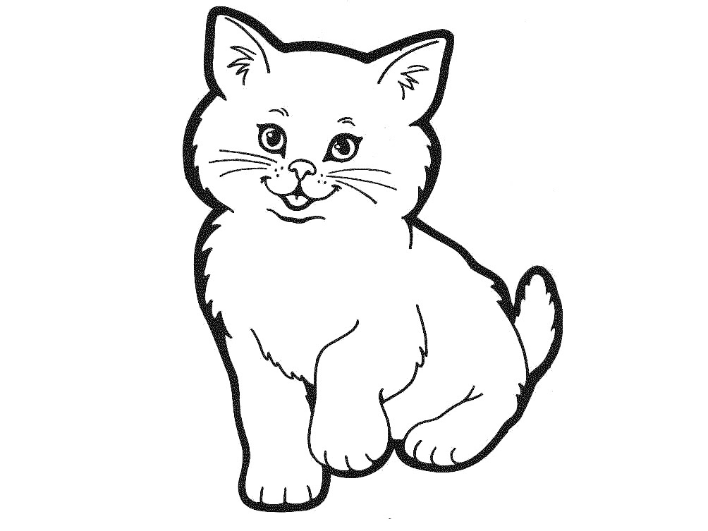 Free Outline Of Cat, Download Free Clip Art, Free Clip Art ...