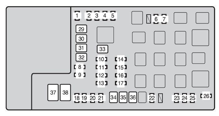 2013 Toyota Tacoma Fuse Box Wiring Diagram Motor C Motor C Frankmotors Es