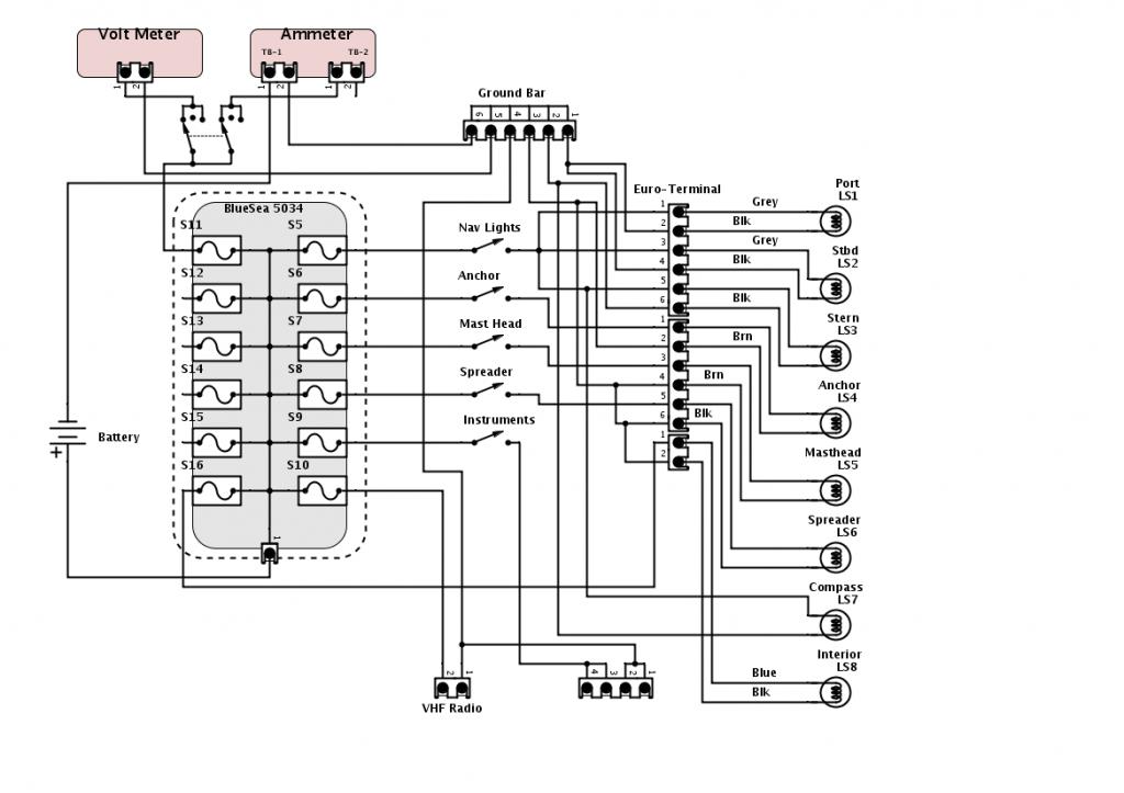 Visio Electrical Drawings