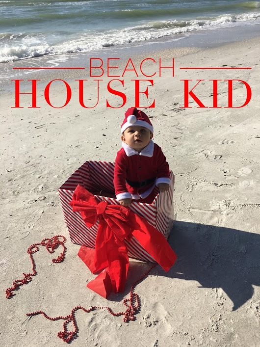 Beach House Kid sharing acts of Holiday kindness and Giving