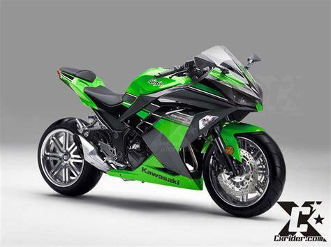 Konsep modifikasi Kawasaki Ninja250fi, racing elegan