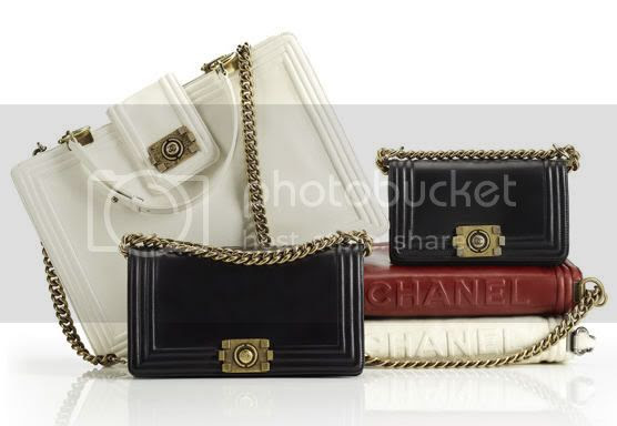 Chanel New  Boy Bag Collection for Fall 2011