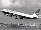 British Airways Cargo Boeing 707-336C G-ASZF.