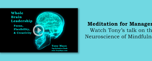 When work arises during meditation | Tony Mayo