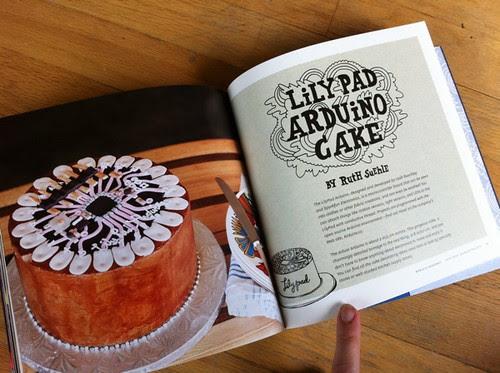 LilyPad Arduino Cake by Ruth Suehle