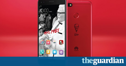 KFC's new smartphone: finger-licking-good or bottom of the bargain bucket? | Technology | The Guardian
