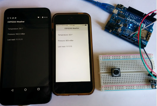 B4R Tutorial - ESP8266 + UDP + BMP180 = Simple weather station | B4X Community - Android, iOS, desktop, server and IoT programming tools