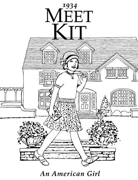 Meet Kit: An American Girl | Kit american girl doll