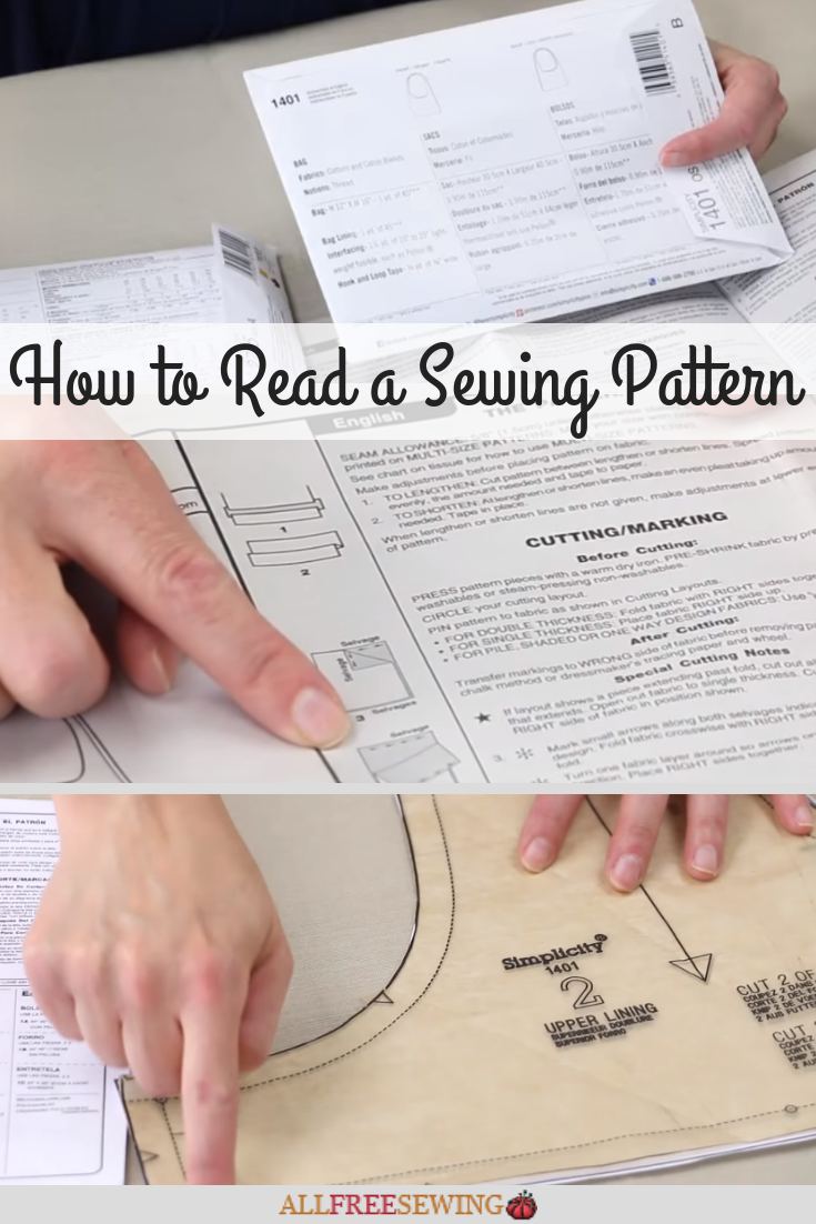 How To Read A Pattern : pattern, Sewing, Pattern, Simplicity