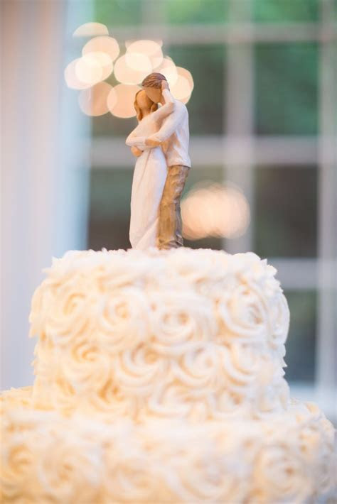 Best of 2015 Weddings   Willow tree cake topper and