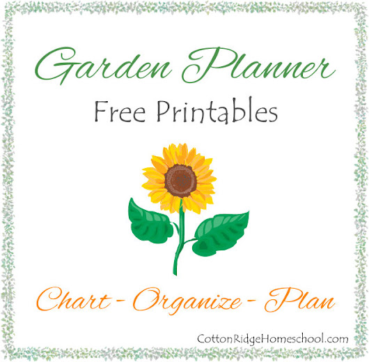 Garden Planners, Charts & Lists ~ Free Printables