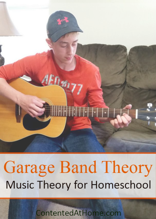 Garage Band Theory: Music Theory for Homeschool | Contented at Home