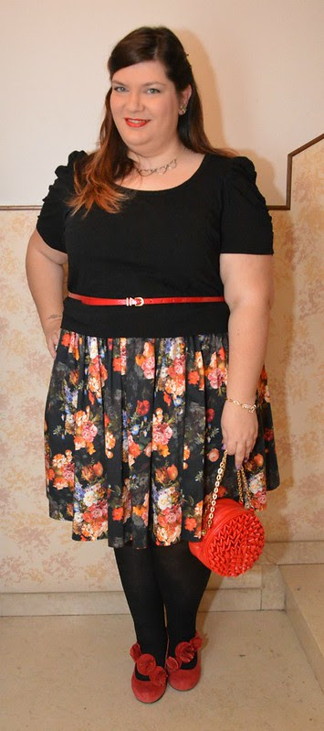 Plus size outfit day: An enchanting dating outfit