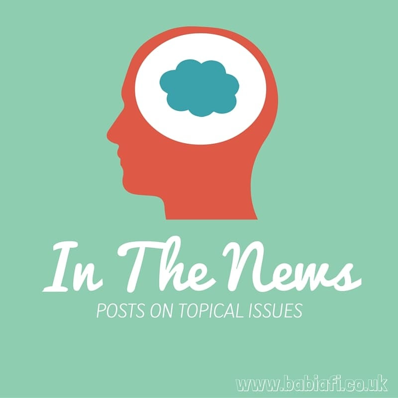 In the News - posts on topical issues