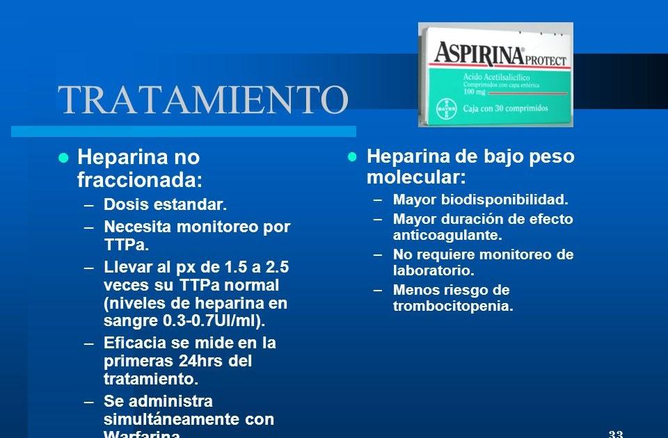 la heparina y la erección afecta