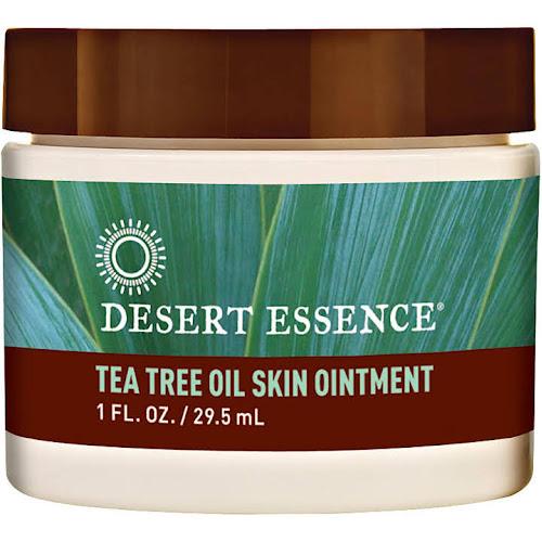Desert Essence Tea Tree Oil Skin, Ointment - 1 fl oz jar