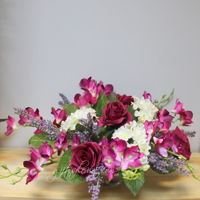 Flowers And Gifts Delivered In Singapore Artificial Flowers Arrangement Same Day Delivery
