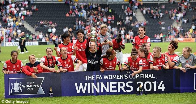 Arsenal Ladies Win 2014 FA Women's Cup