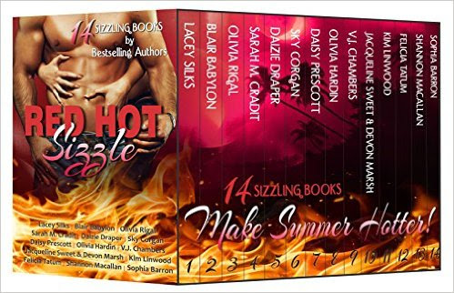 #RedHotSizzle Cover Reveal & Giveaway