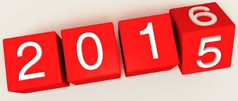 Balanço do ano de 2015!