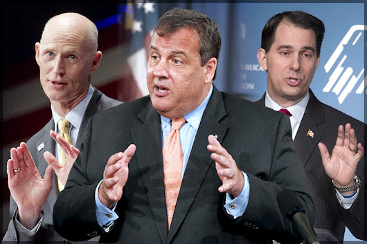 "Shockingly sleazy GOP governors: ""Knaves, scoundrels, extremists and panderers"""