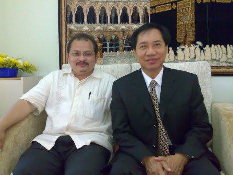 Bersama 'bakal' PM Thailand