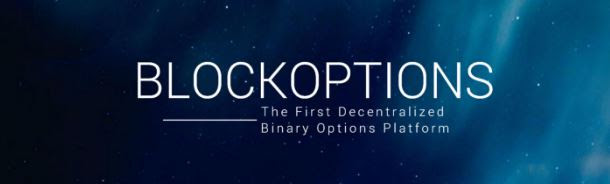 Binaryoption yang berteknologi blockchain dalam proyek Blockoption