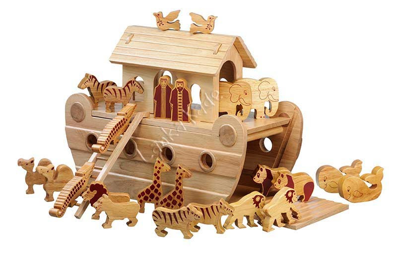Natural Wooden Noah's Ark | TheWoodenToyExpert's Blog