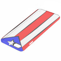 Puerto Rican Flag Uncommon Clearly™ Deflector iPhone 6 Plus Case