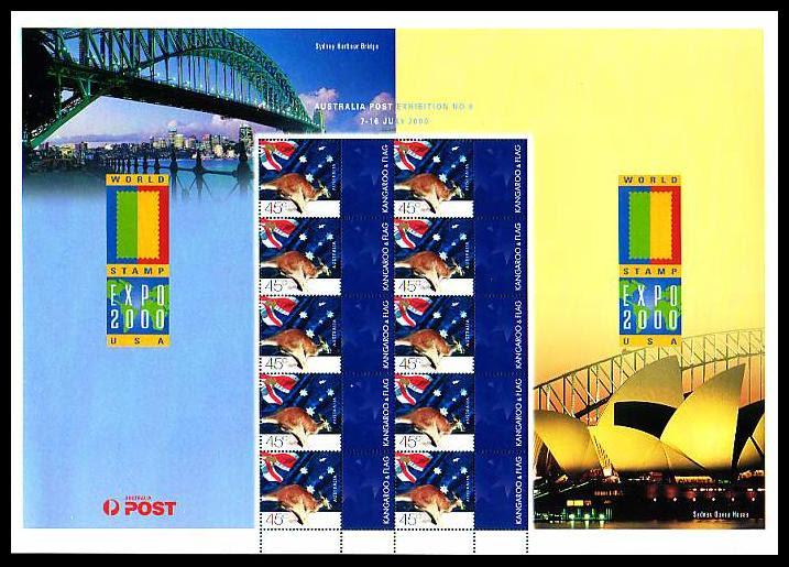 Australia Expo 2000 sheetlet