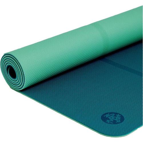 Manduka Welcome Yoga and Pilates Mat, Aqua Blue