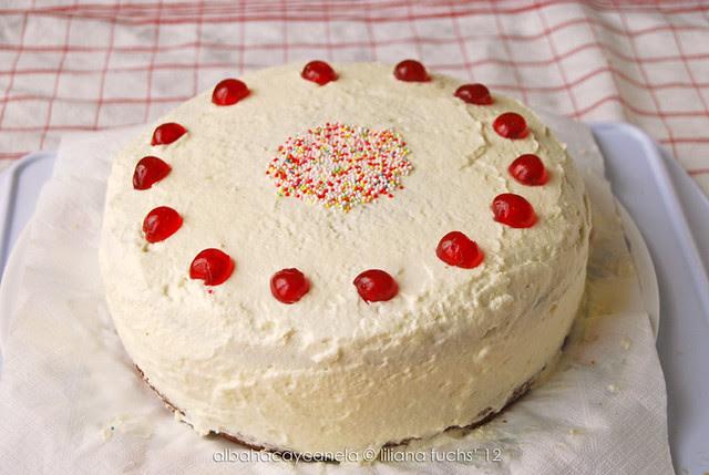 La tarta de cumple de mi hermano