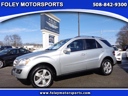 Used 2009 Mercedes-Benz M-Class for Sale in Shrewsbury MA 01545 Foley Motorsports