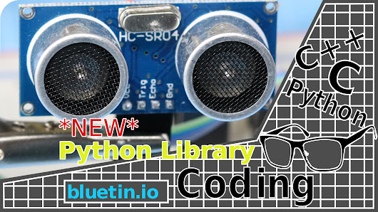 Ultrasonic HC-SR04 Sensor Python Library for Raspberry Pi GPIO - bluetin.io