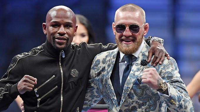 Боец UFC Конор Макгрегор и боксер Флойд Мэйуэзер ведут переговоры о втором бое