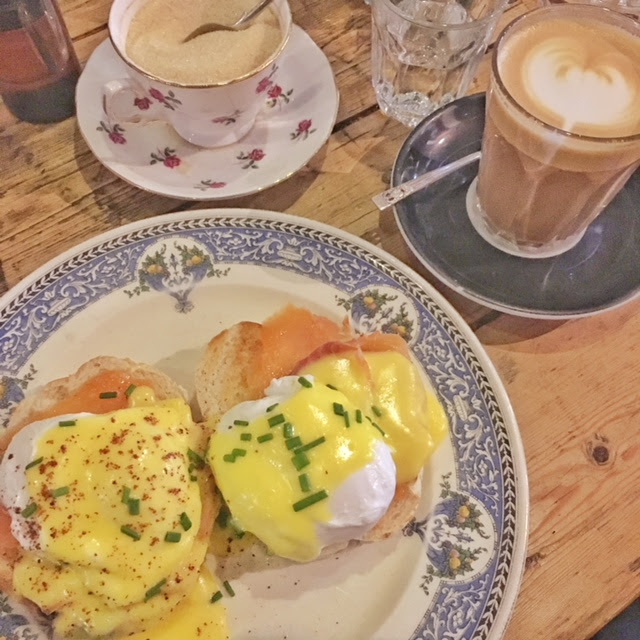 Mrs Athas Leeds eggs coffee