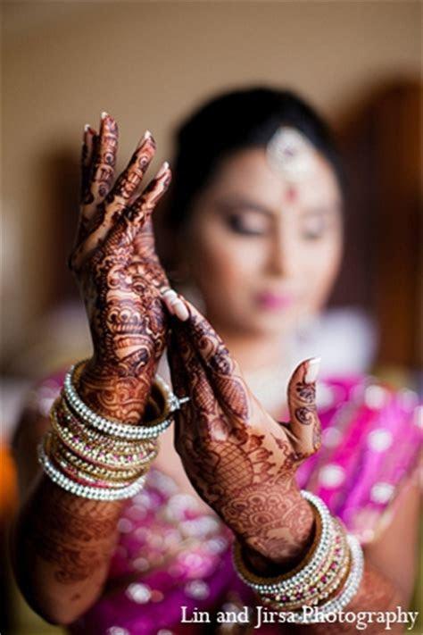 Indian wedding bride mehndi pink   Photo 12825   Maharani