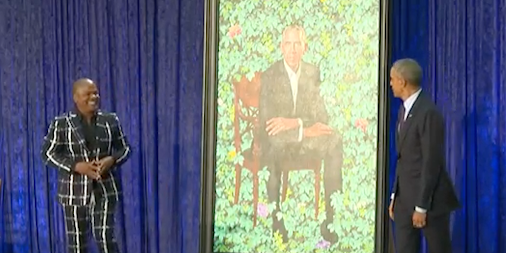 Here are Barack and Michelle Obama's official portraits. Business Insider-8 minutes ago. #Obama #portrait...