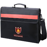 Coerni Fireproof Document Bag Fire Resistant & Water Resistant Money Bag Safe Storage black