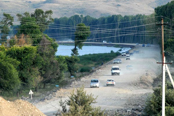 New Way: Renovation of key Sevan road due to be completed next spring