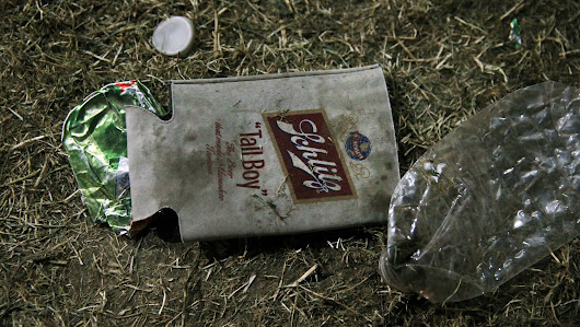 Trashed and abused: What's left after a music festival ends