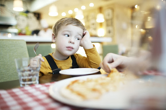 A woman in a restaurant complained about my kids. Here's how I responded.
