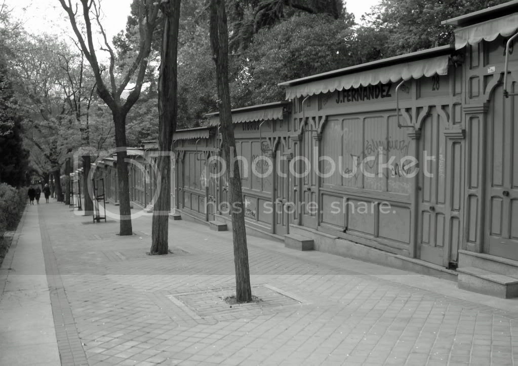 Madrid. Cuesta de Moyano. 2006