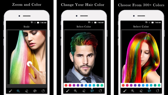 5 Best Change Hair Color Apps To Check Best Suited Style