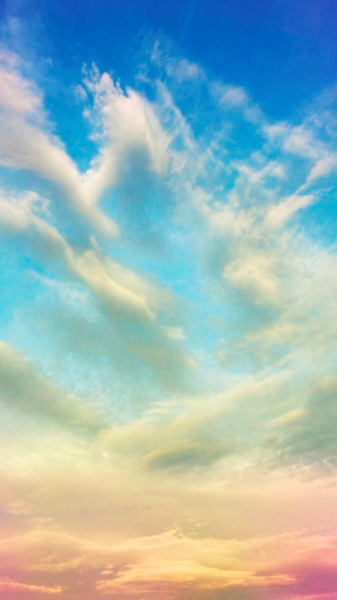 Clouds iPhone Backgrounds Free Download | PixelsTalk.Net
