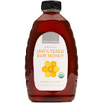 Prince & Spring Organic Unfiltered Raw Honey 40 oz.