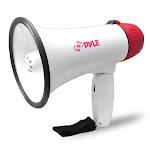 Pyle USA TW7050 Mini Compact Megaphone Bullhorn with Siren Alarm and LED Lights