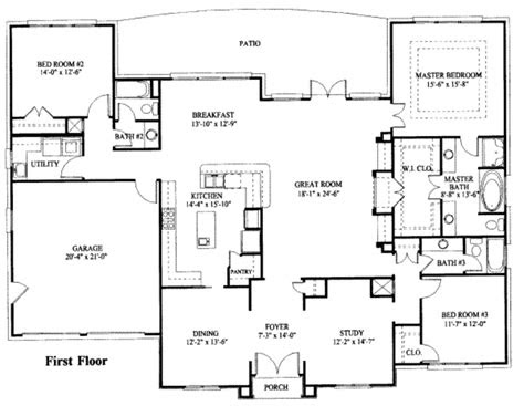 simple  story house plan house plans pinterest  story