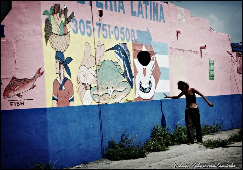 Morning in Little Haiti on NW 79th Street in Miami, Florida, USA, 2008. Street Photography of Miami, San Francisco and Key West by Emir Shabashvili, see http://street-foto.com, http://miamistreetphoto.com, http://miamistreetphotography.com or http://miamistreetphotographer.com