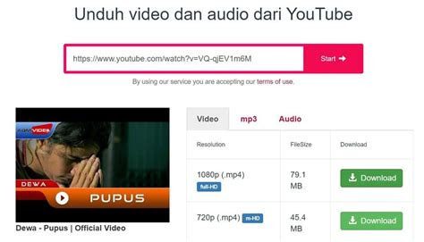 video youtube  mudah  pc